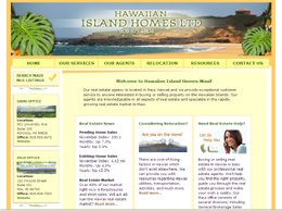 Image of HIH Maui website