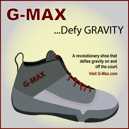 G-Max Shoe Illustration