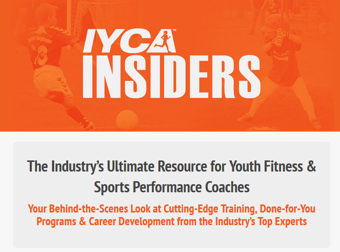 IYCA Insiders Landing Page